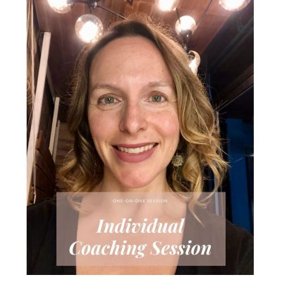 individual coaching session rachel drummond